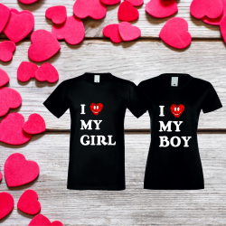 Trička pro páry - perfektní dárek pro Valentýna
