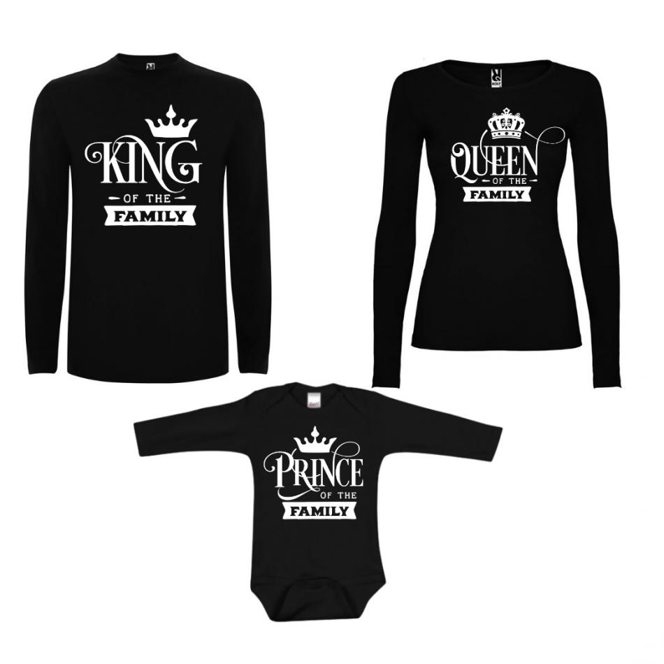 Rodinný set v černé barvě Prince of the Family