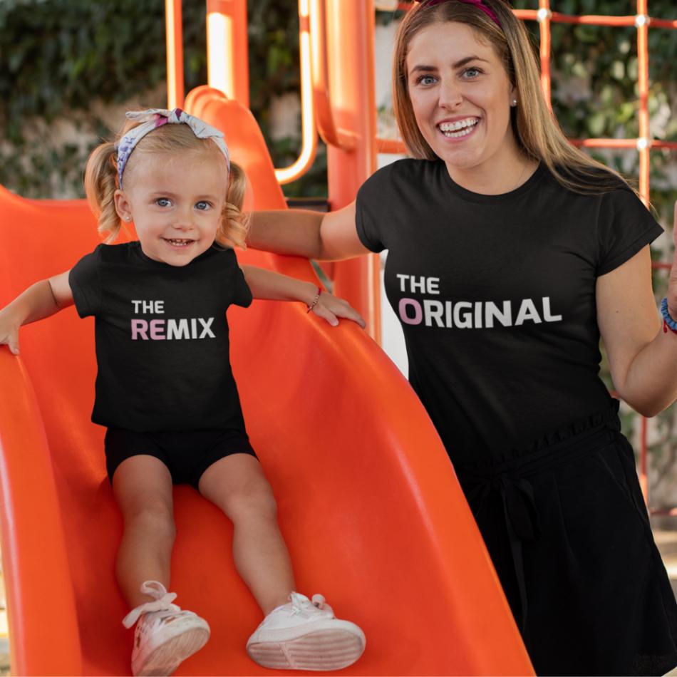 Trička pro rodiče a děti The Original - The Remix