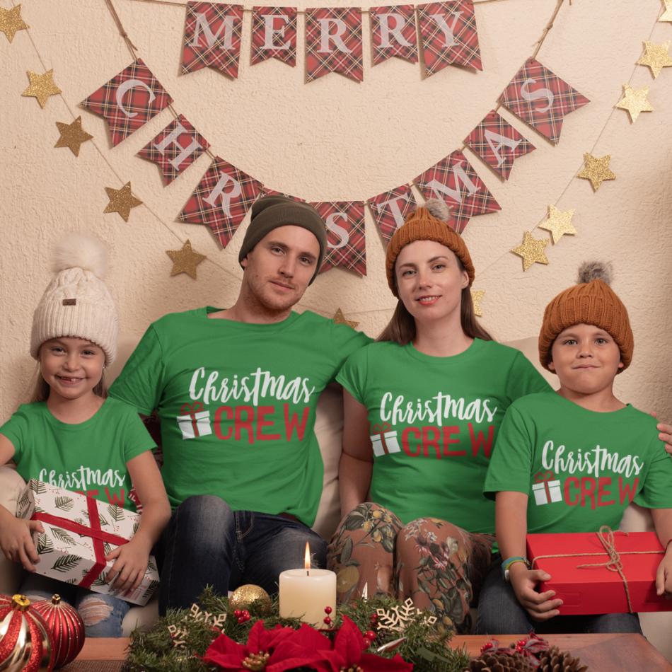 Vánoční rodinná sada triček  Christmas Present