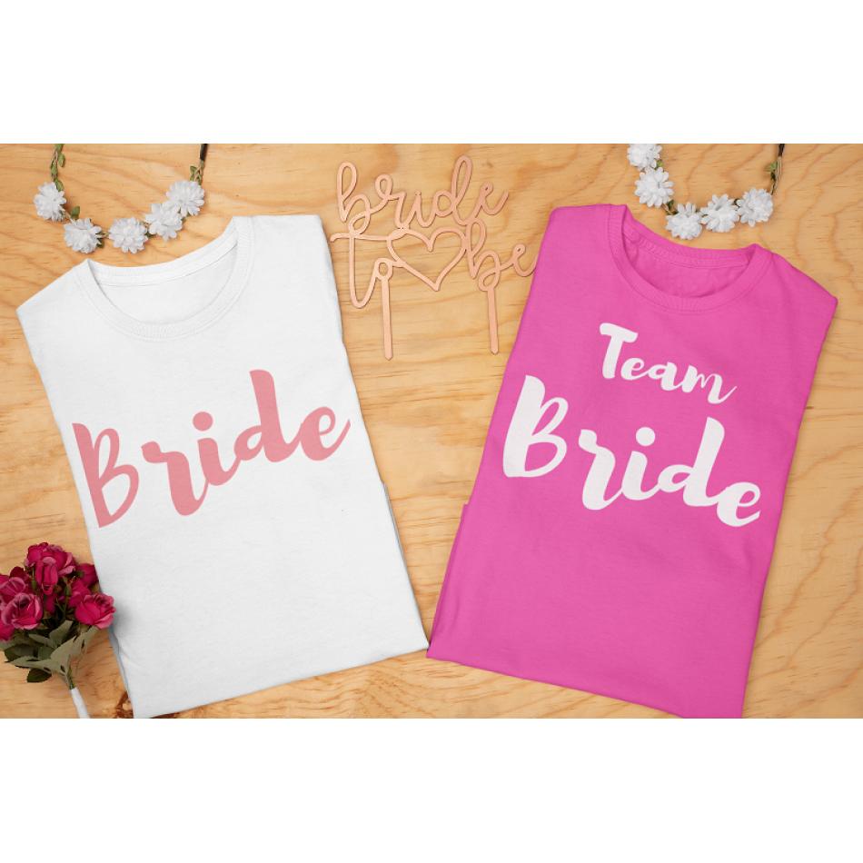 Trička na rozlučku se svobodou - Bride, Bride to be
