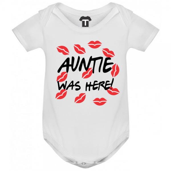 Dětské body Auntie Was Here