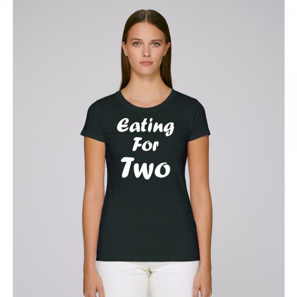 Damské tričko Eating for two