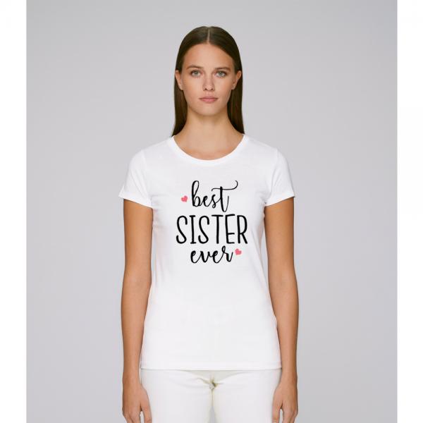 Damské tričko Best Sister Ever