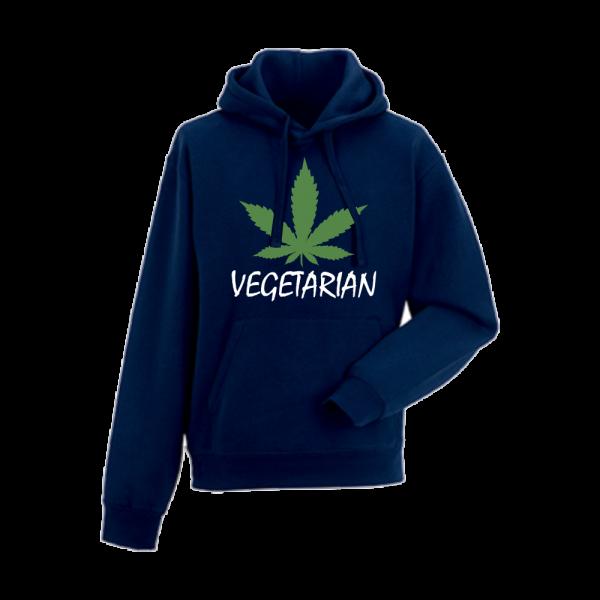 Panska mikina Tmavě modré Vegetarian