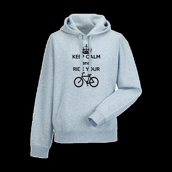 Panska mikina Keep Calm and Ride your Bike