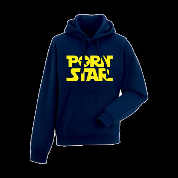 Tmavě modrá pánská mikina P*rn Star