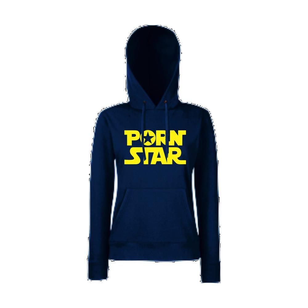 Tmavě modrá dámská mikina P*rn Star