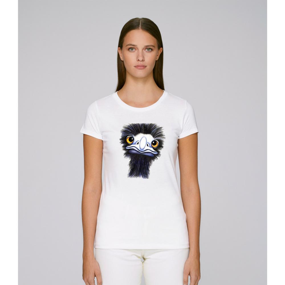 Dámské tričko Bílá Emu
