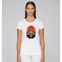 Dámské tričko Bílá Funky Monkey