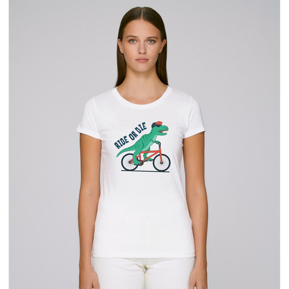 Dámské tričko Bílá Ride or Die