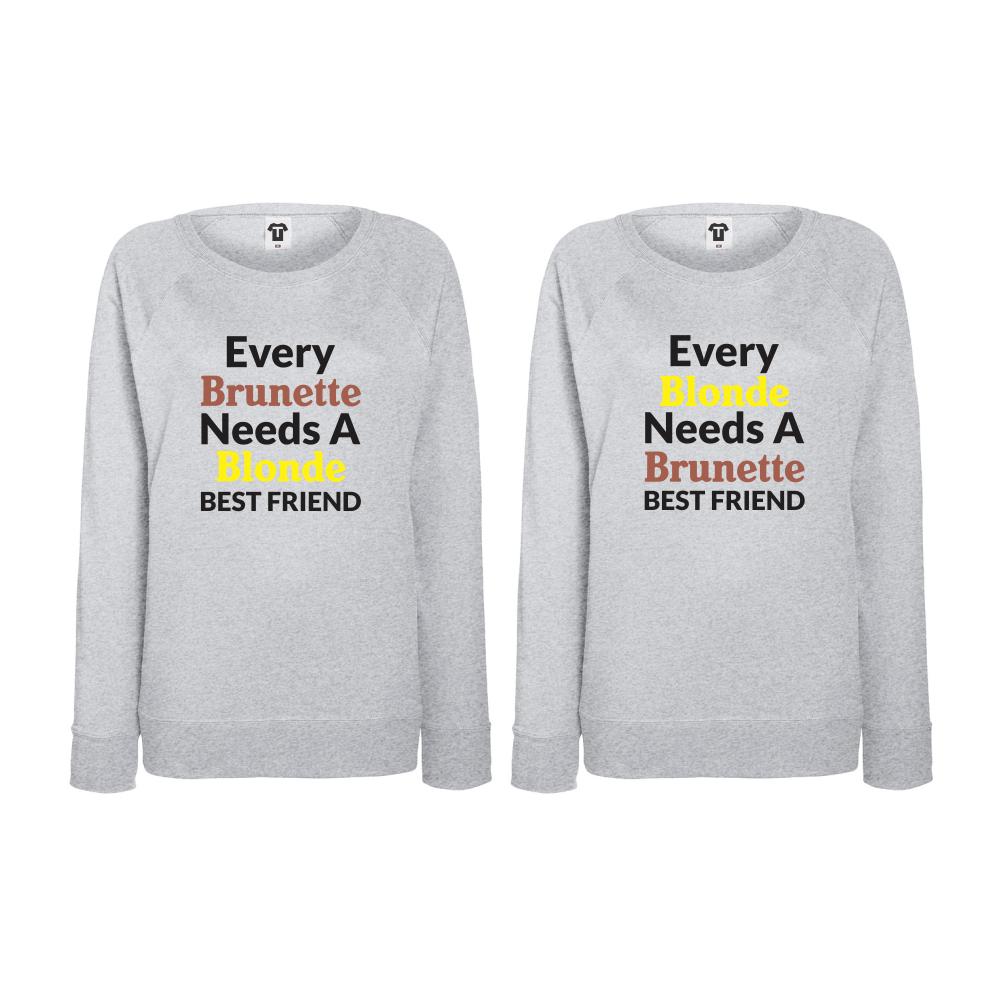 Set triko s dlouhým rukávem Every Brunette needs BD-CP-004G