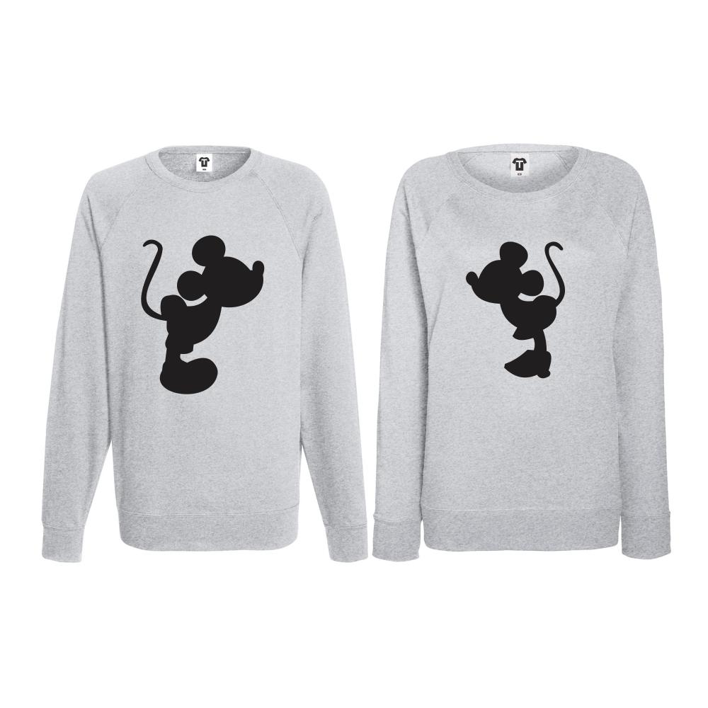 Set bluze pentru cupluri Mickey - Minnie BD-CP-064G
