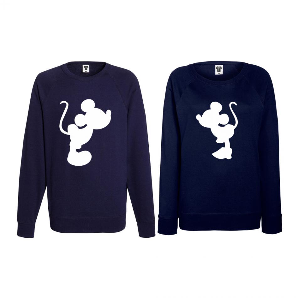 Set bluze pentru cupluri Mickey - Minnie BD-CP-064N