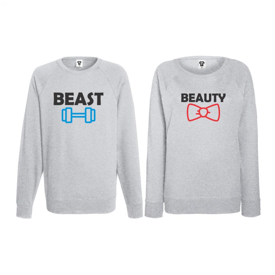 Set triko s dlouhým rukávem Beast and Beaty BD-CP-065G