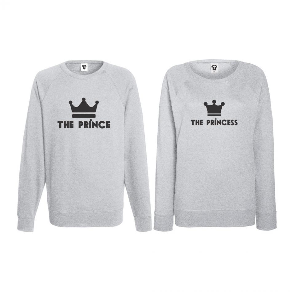 Set triko s dlouhým rukávem Prince - Princess BD-CP-095G