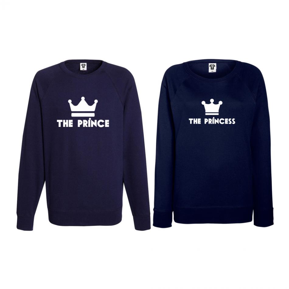 Set triko s dlouhým rukávem Prince - Princess BD-CP-095N