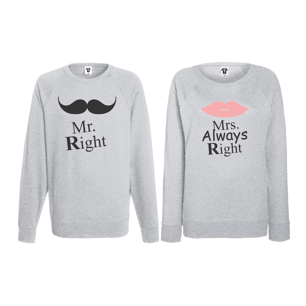Set triko s dlouhým rukávem Mr Always Right BS-CP-007G