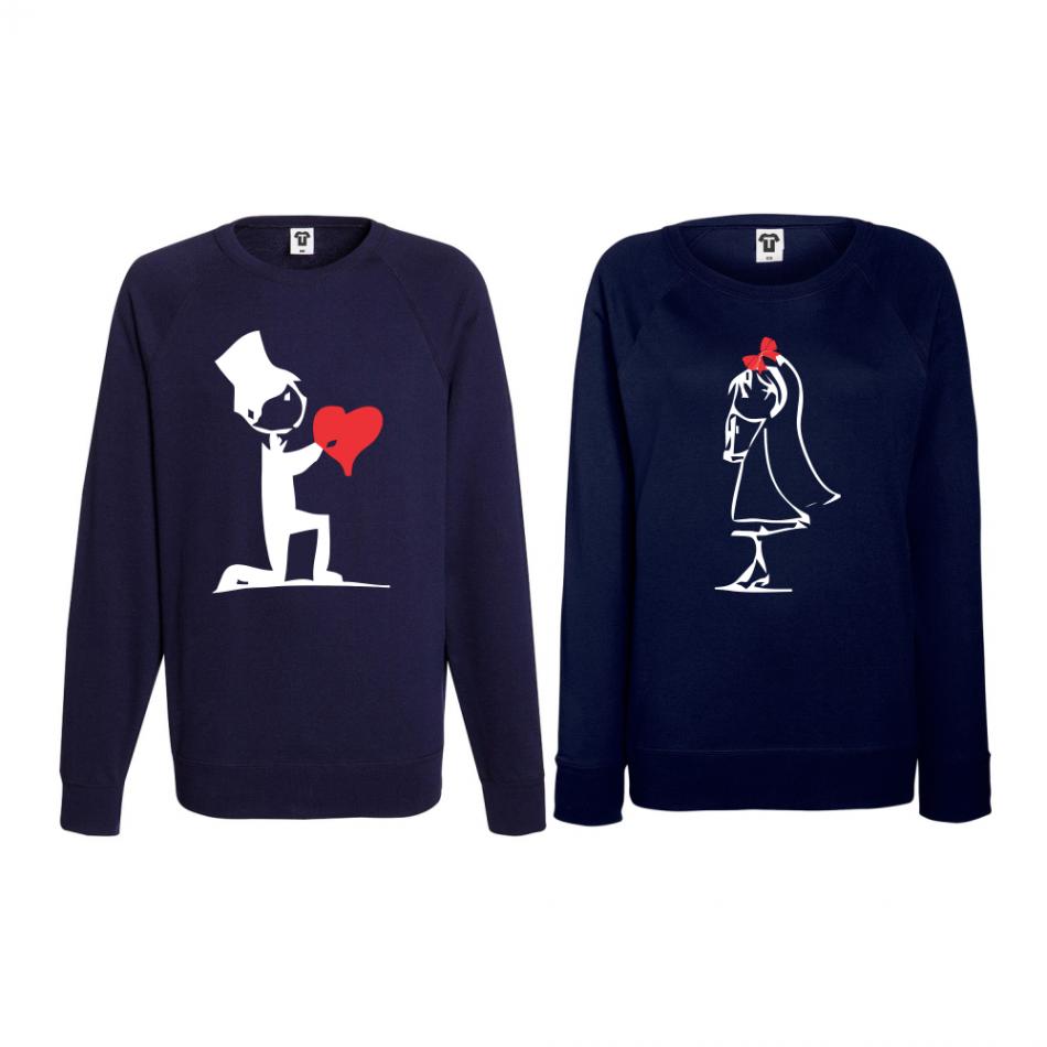 Set triko s dlouhým rukávem Cute Couple BS-CP-018N