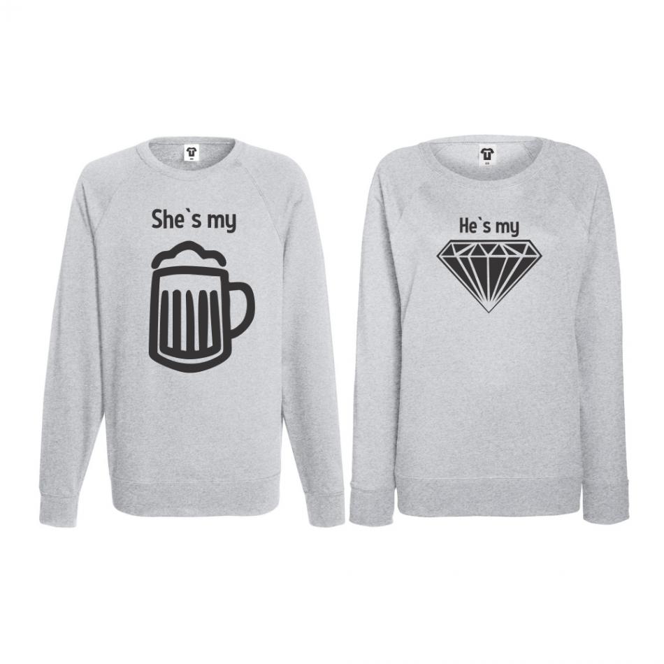Set triko s dlouhým rukávem Beer - Diamond BS-CP-042G