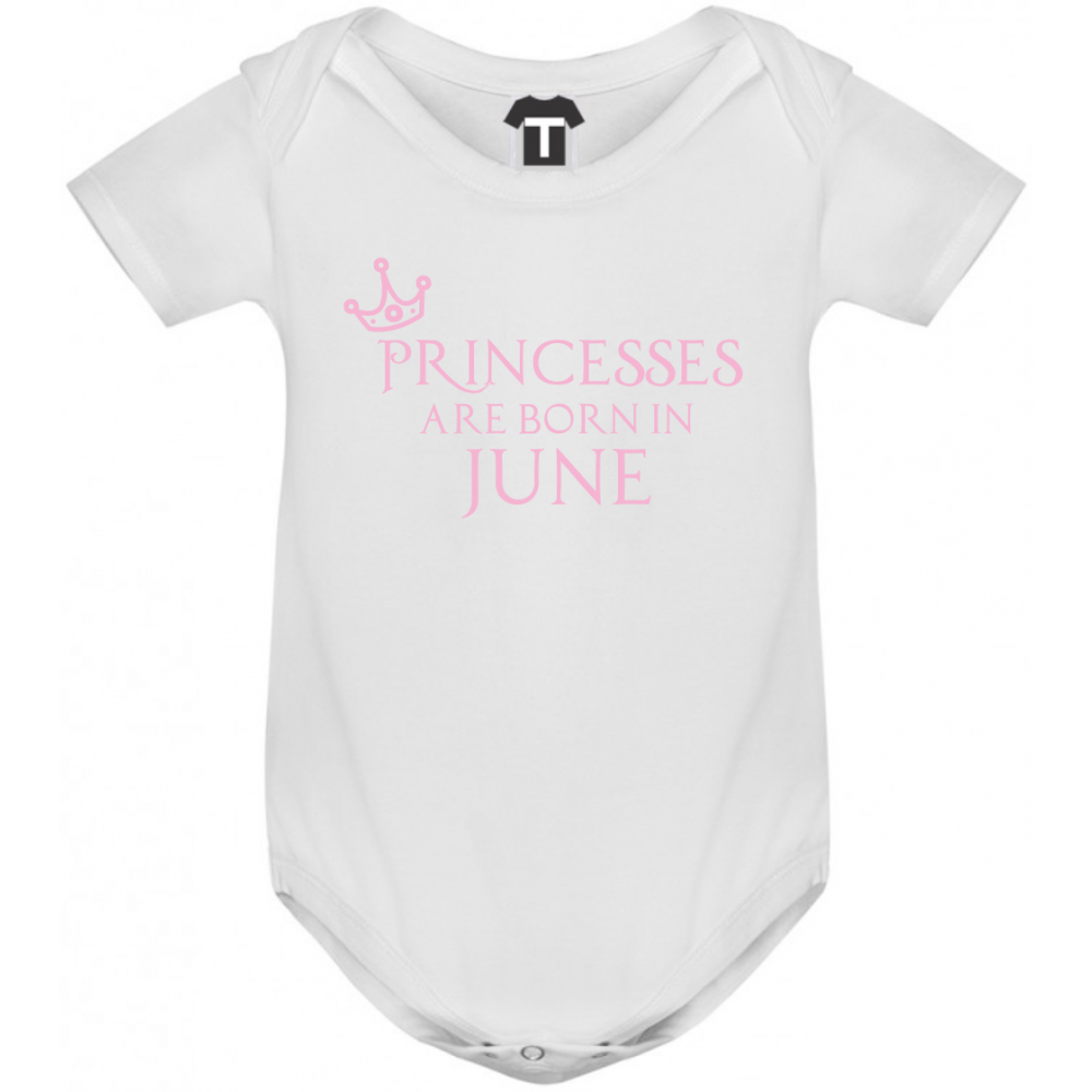 Dětské body Princesses Are Born In June B-D-208-6