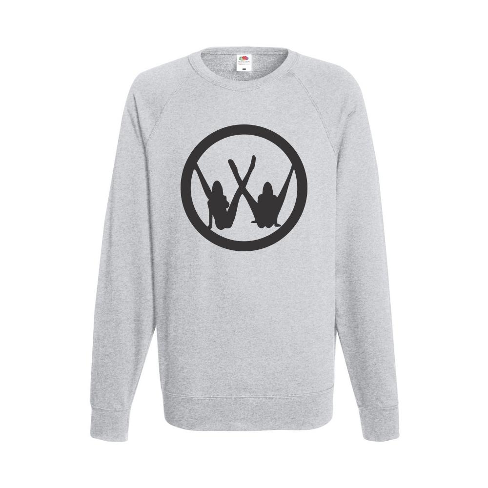 Šedé pánské triko s dlouhým rukávem VW Girls B-M-AU-038G