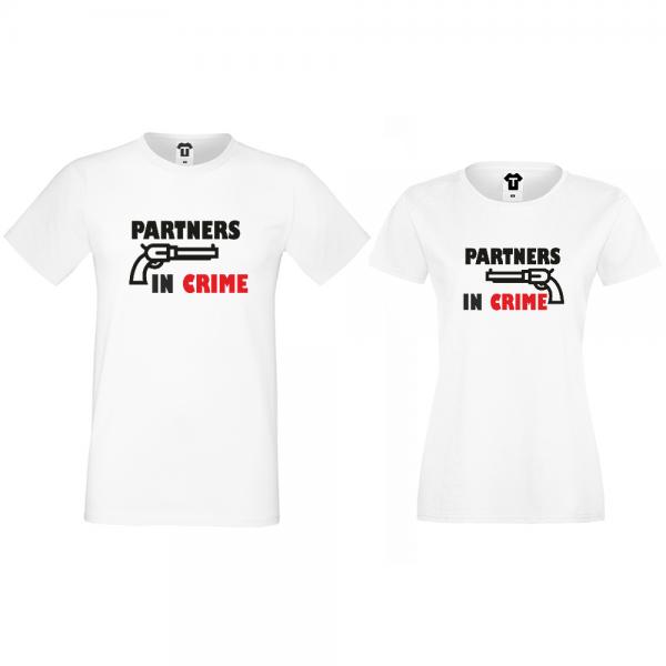Trička pro pary Partners in Crime D-CP-164