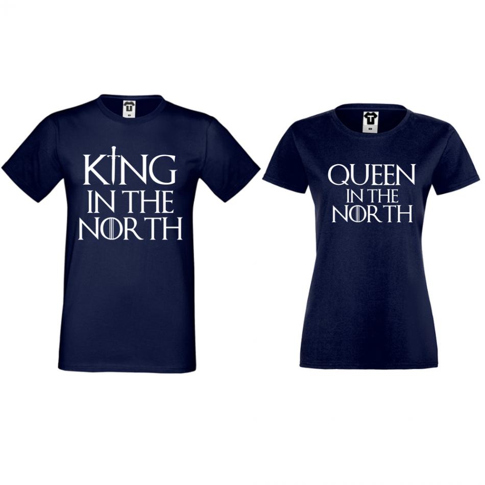 Trička pro páry King of The North D-CP-166N