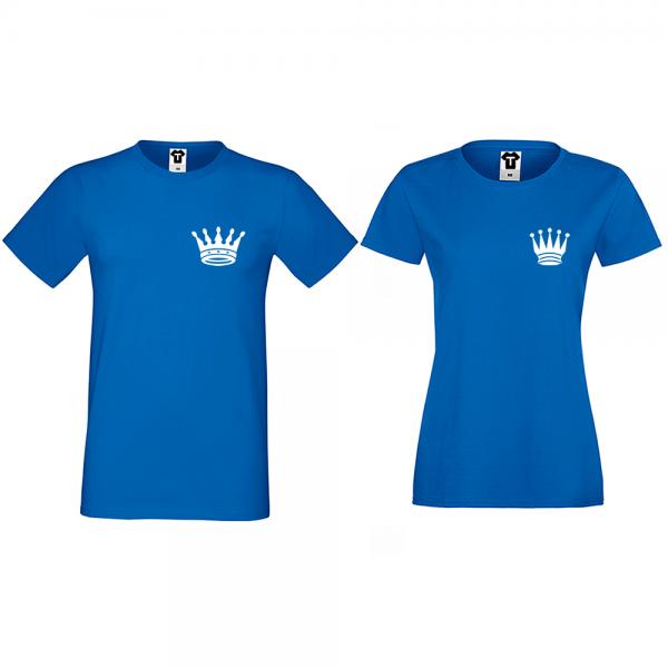 Trička pro páry Pocket Crowns