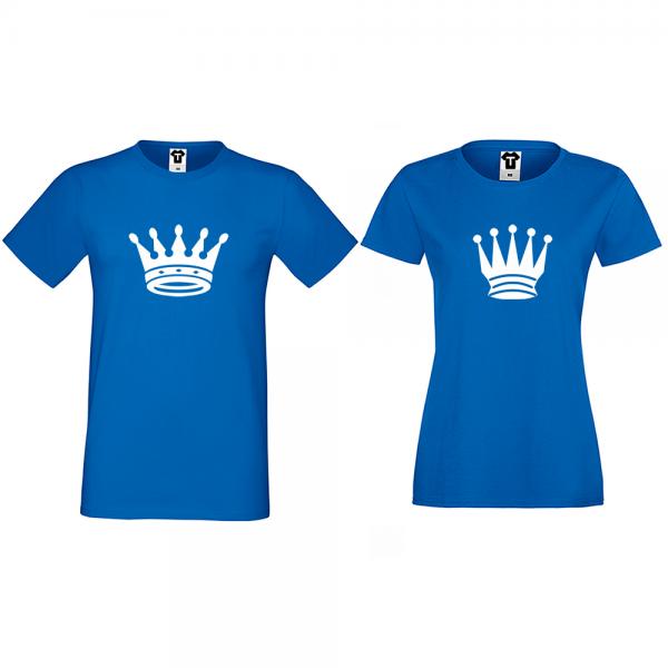 Trička pro páry Big Crowns