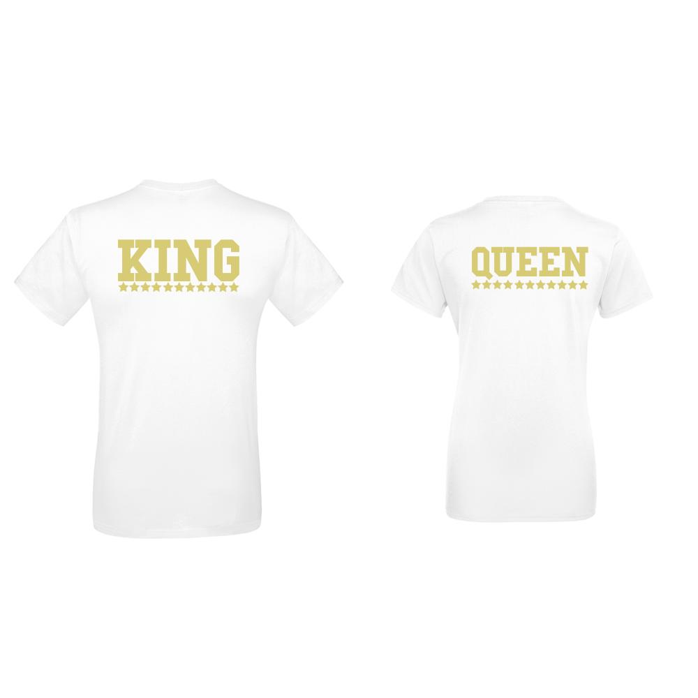 Trička pro páry  King - Queen D-CP-144