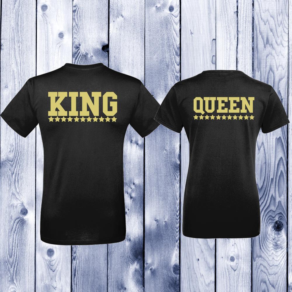 Trička pro páry  King - Queen D-CP-144B