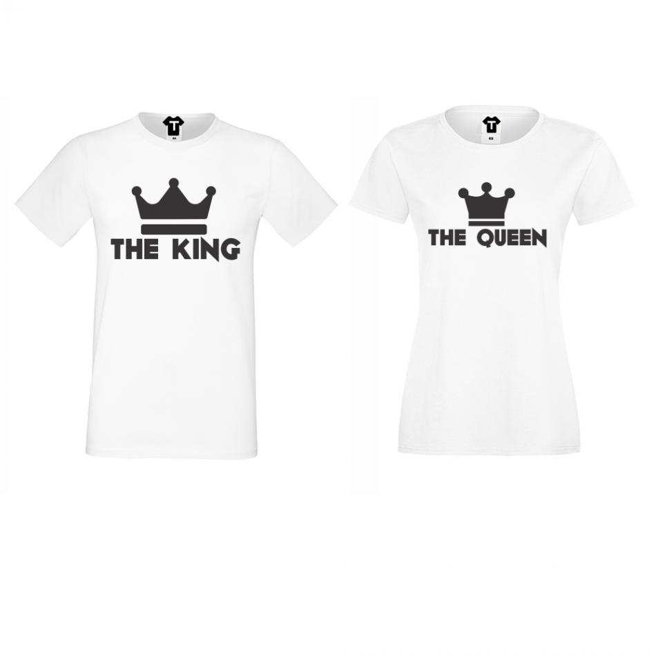 Trička pro páry KING - QUEEN D-CP-063