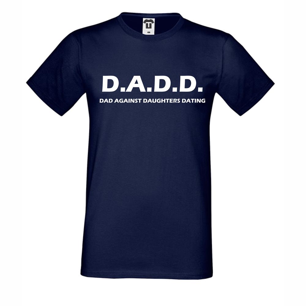 Pánská trička Dad against daughters dating D-M-141N