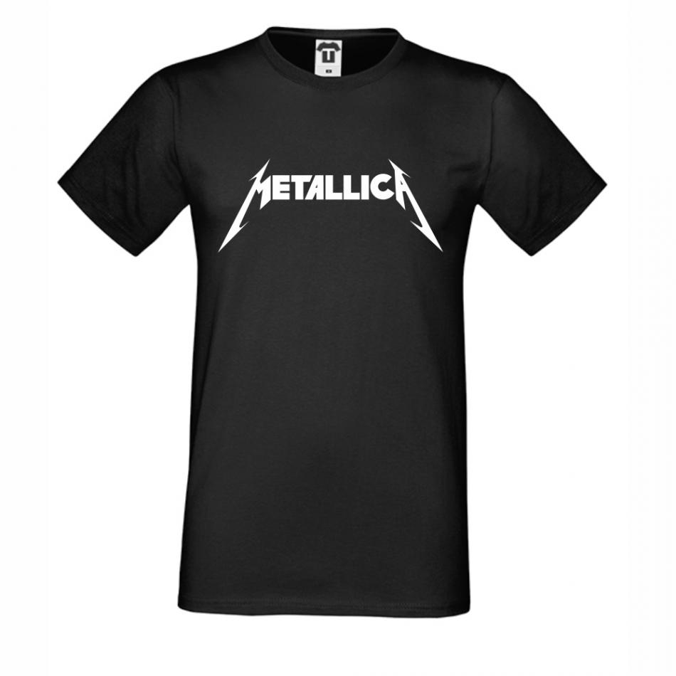 Pánské tričko Černé Metallica D-M-210B
