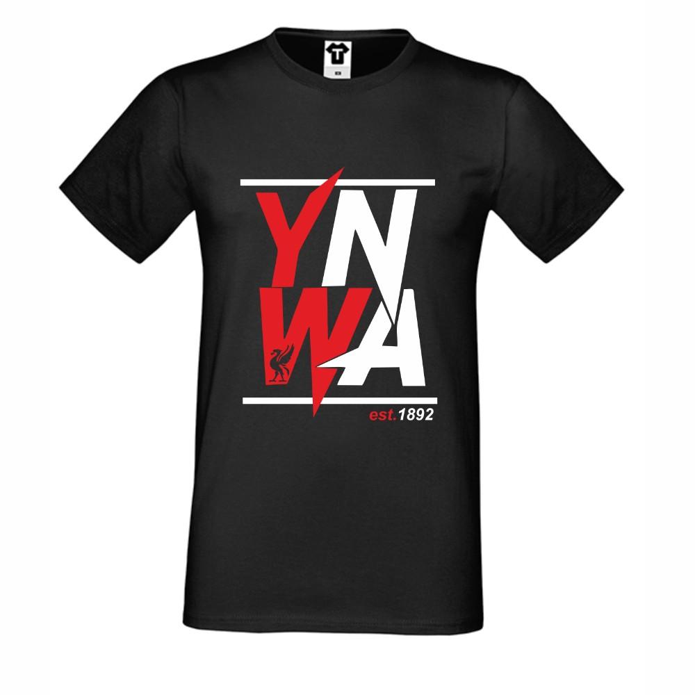Černé pánské tričko YNWA