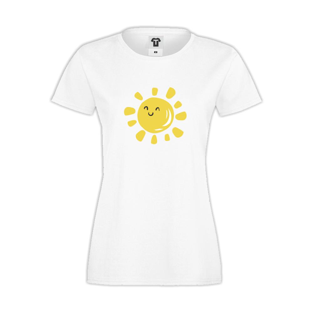 Bílé dámské triko D-W-036