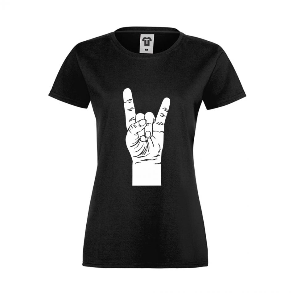Černé dámské triko D-W-046B
