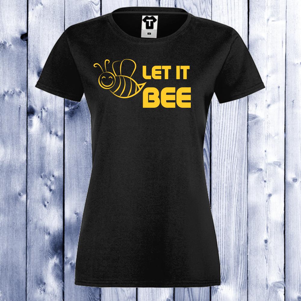 Dámské tričko Černá Bee D-W-115B