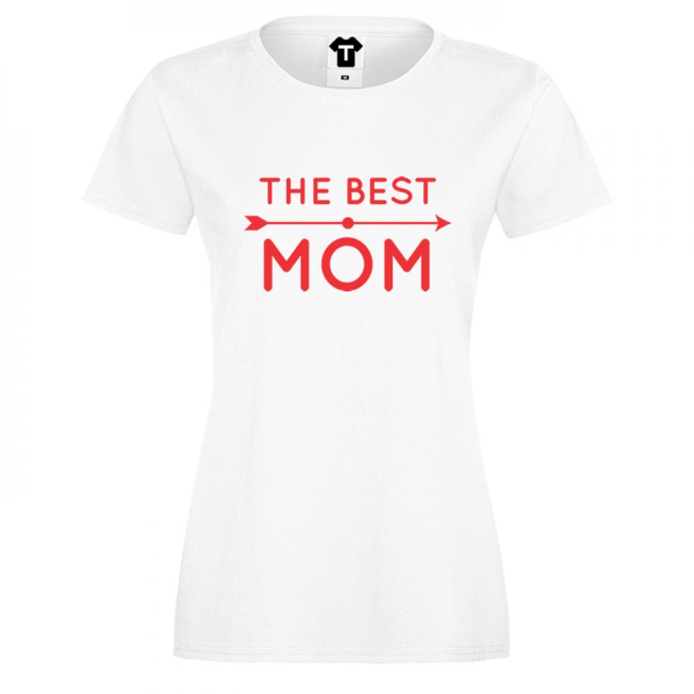 Dámské tričko  The Best Mom 2 D-W-123