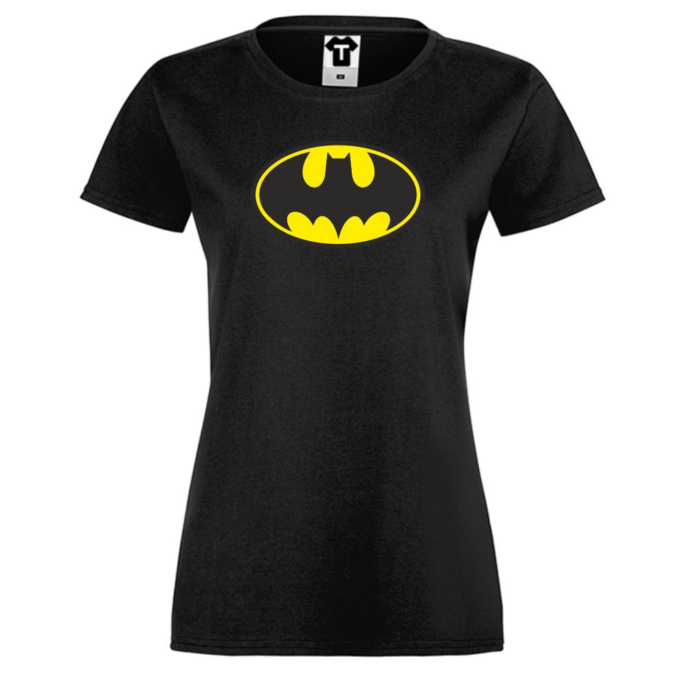 Dámské tričko Černé Batman D-W-156B