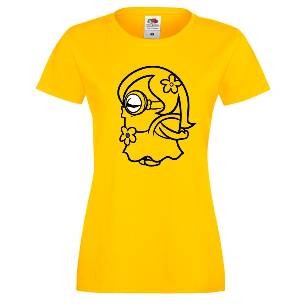 Dámské tričko Žluté Minion D-W-158Y