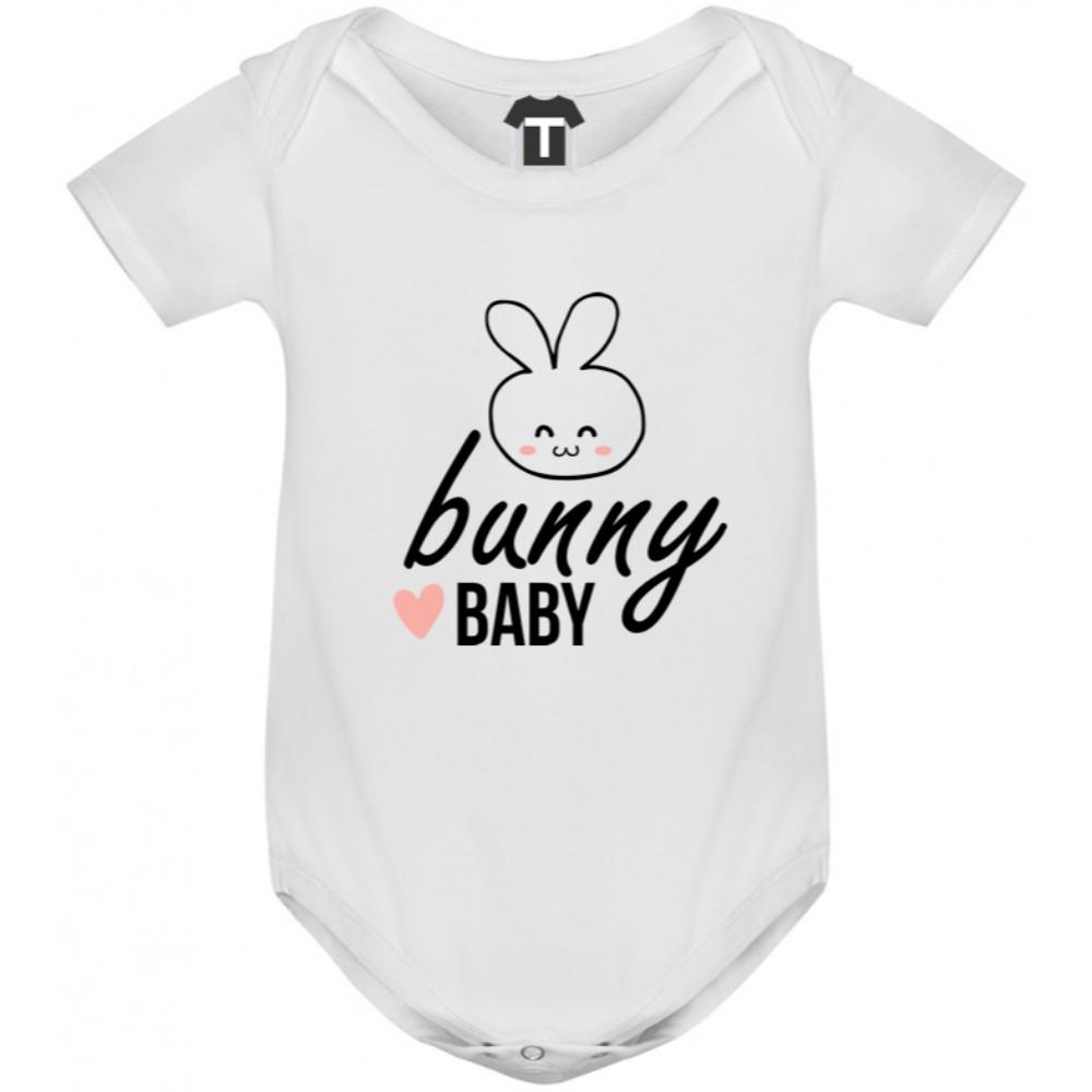 Kojenecké body v různých barvách  Bunny Baby