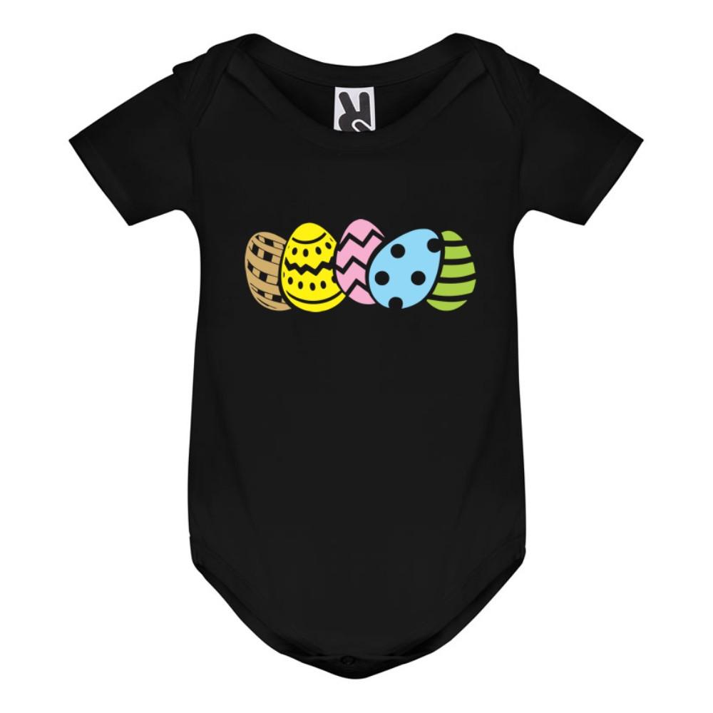 Kojenecké body v různých barvách Baby Eggs