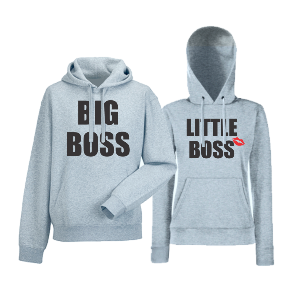 Mikiny pro páry Big and Little Boss HD-CP-170G