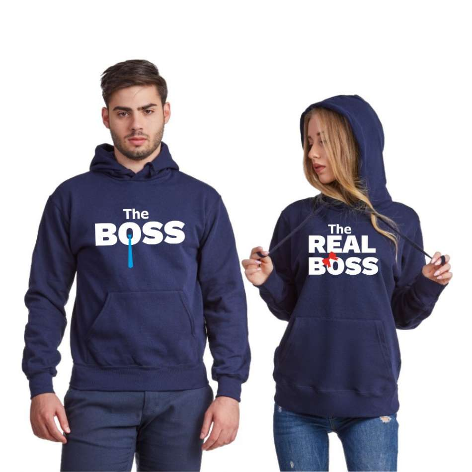 Mikiny pro páry  The Real Boss Tie