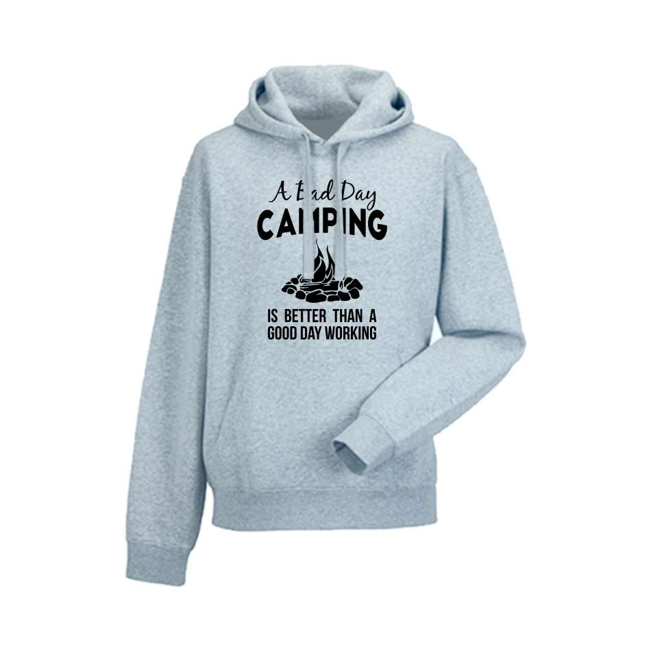 Panska mikina Bad Day Camping   HD-M-149G