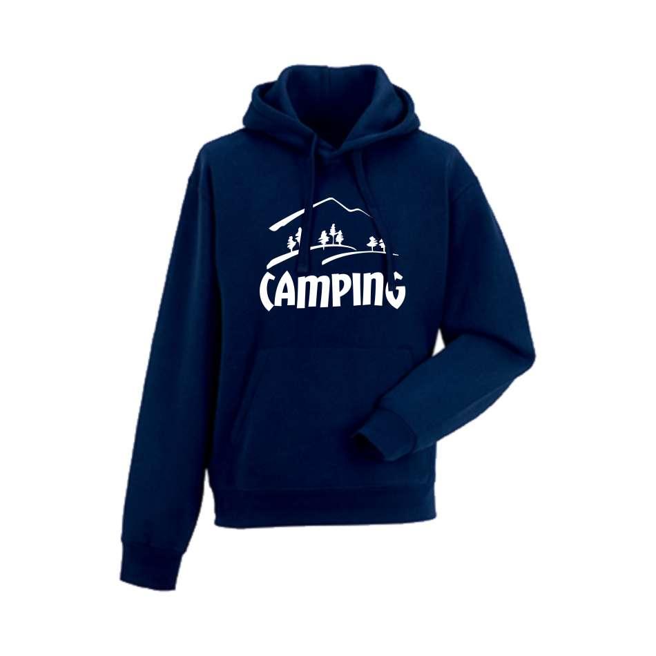 Panska mikina Camping Tmavě modré  HD-M-150N