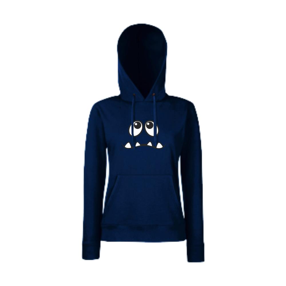 Tmavě modré dámská mikina HD-W-012N