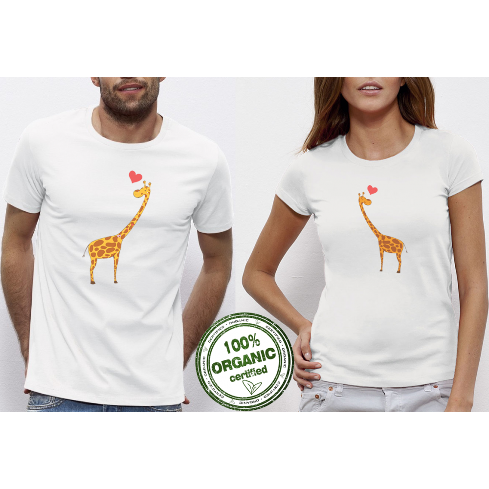 Trička pro páry Giraffes in Love P-CP-012